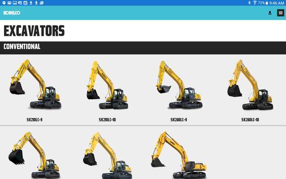 Kobelco Construction Machinery apk screenshot