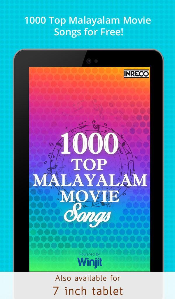 1000 Top Malayalam Movie Songs for Android - APK Download