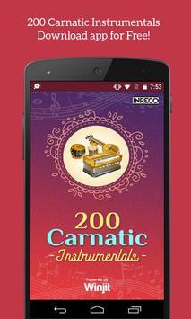 200 Carnatic Instrumentals poster