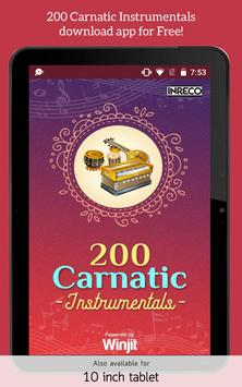 200 Carnatic Instrumentals screenshot 4