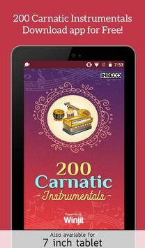 200 Carnatic Instrumentals screenshot 5