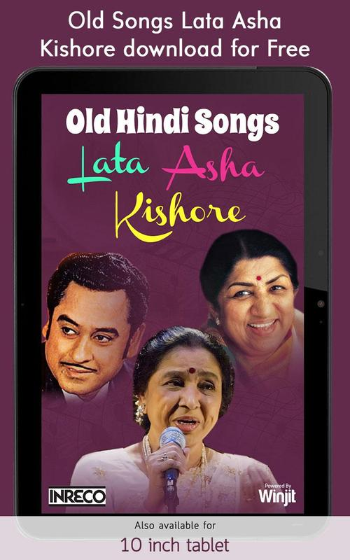 Old hindi songs lata asha kishore 1. 0. 0. 4 download apk for android.