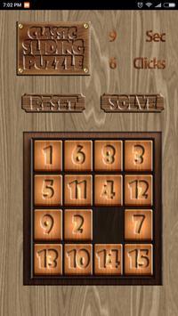 Classic Sliding Puzzle apk screenshot
