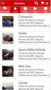 King Car Rentals apk screenshot