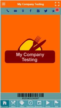 My Company Testing poster