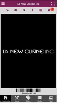 La New Cuisine Inc poster