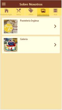 Pastelería Inglesa apk screenshot