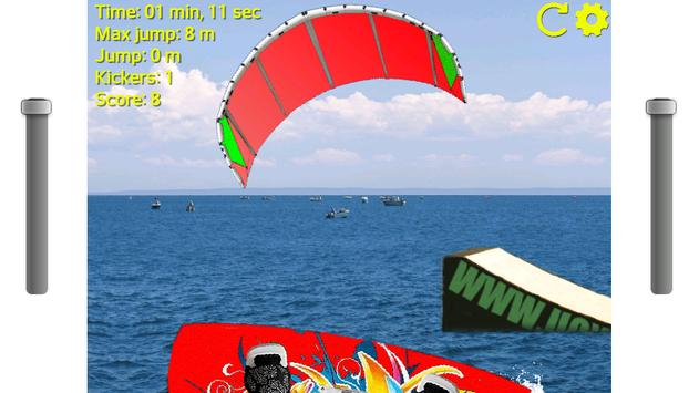 Kiteboarding Kickers screenshot 1