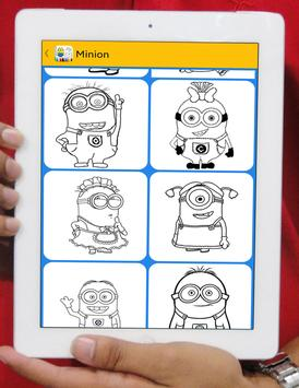Minion Coloring Book poster