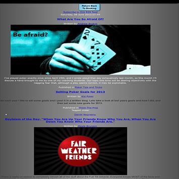 FishNChips Poker apk screenshot