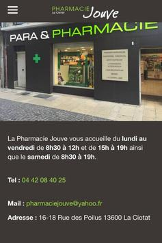 Pharmacie Jouve La Ciotat poster