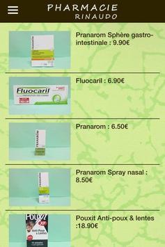 Pharmacie Rinaudo Néoules apk screenshot