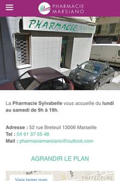 Pharmacie Marsiano Marseille apk screenshot