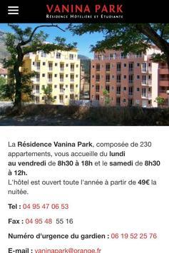 Vanina Park Corte poster