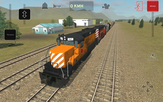 Train and rail yard simulator screenshot 16