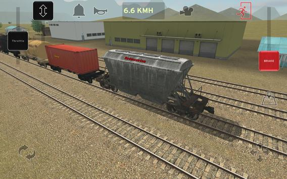 Train and rail yard simulator screenshot 17