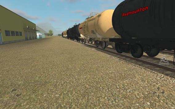 Train and rail yard simulator screenshot 12