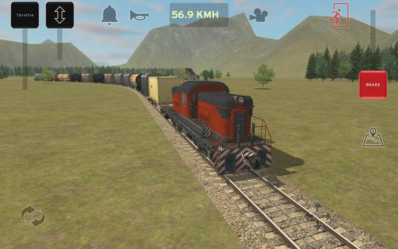 Train and rail yard simulator screenshot 1