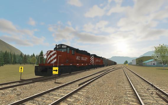 Train and rail yard simulator screenshot 4