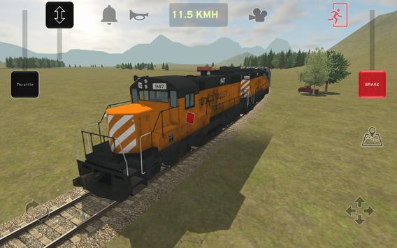 Train and rail yard simulator screenshot 6