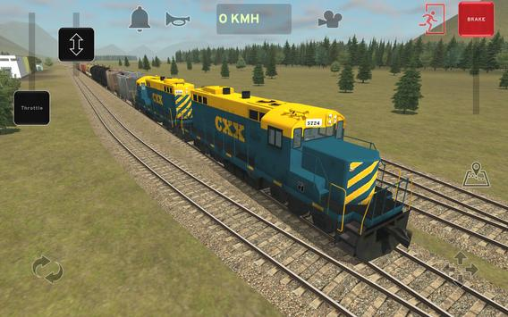 Train and rail yard simulator screenshot 8