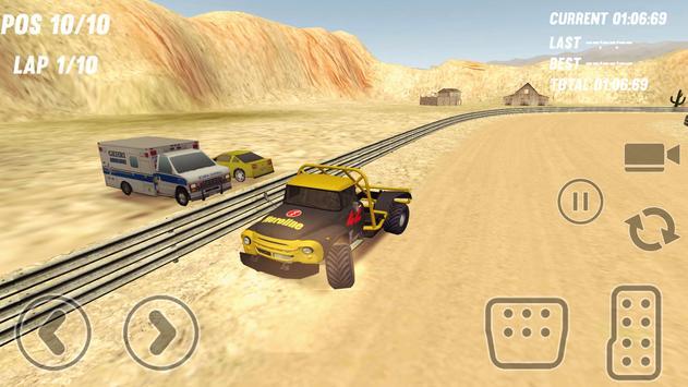 Big Truck Rallycross apk screenshot