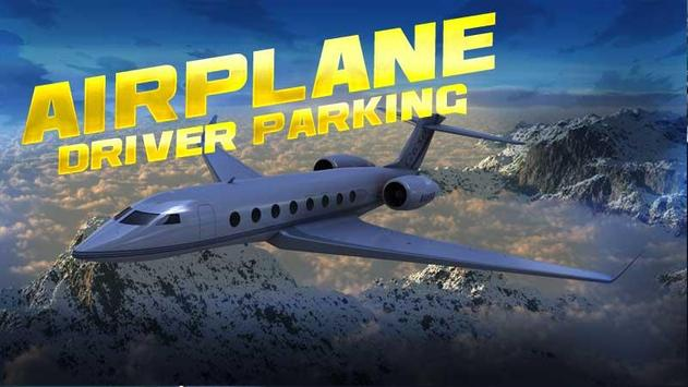 Airplane Driver Parking poster
