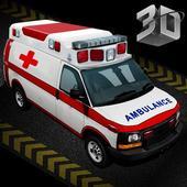 Ambulance Emergency Driver 3D icon