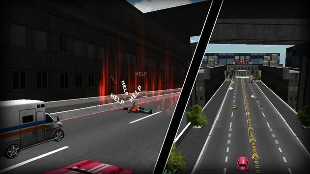 Ambulance Emergency Driver 3D screenshot 4