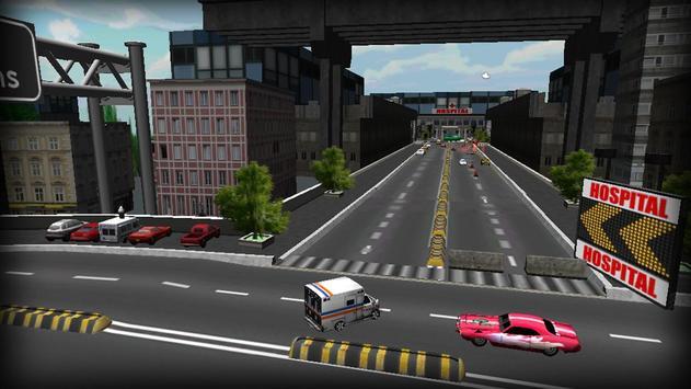 Ambulance Emergency Driver 3D screenshot 3