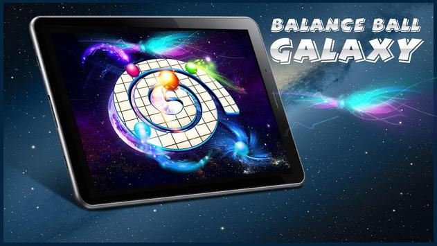 Balance Ball Galaxy poster