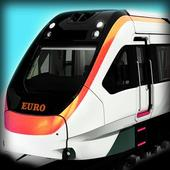Euro Train Driving icon