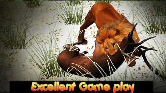 Lion Safari Attack apk screenshot