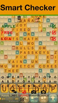 Deutsche Word Cheat for WWF Scrabble Wordfeud screenshot 1