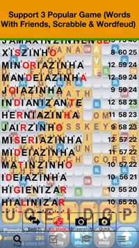 Português Scrabble WWF Wordfeud Cheat poster