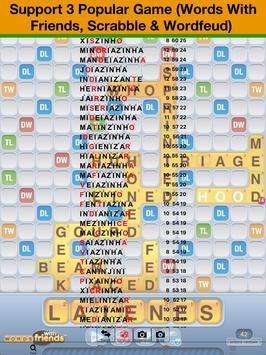 Português Scrabble WWF Wordfeud Cheat screenshot 5