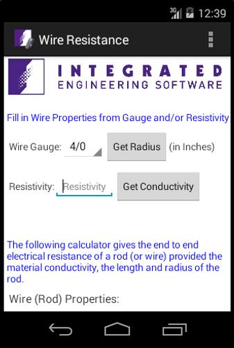 Wire resistance calculator apk download free tools app for android wire resistance calculator poster keyboard keysfo Gallery