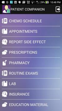 Patient Companion apk screenshot