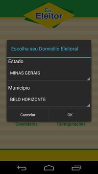 Eu, Eleitor apk screenshot