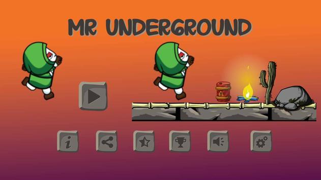 Mr Under Ground poster