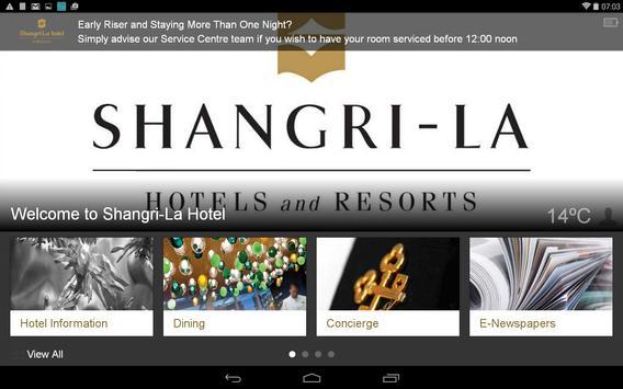 Shangri-La Hotel, Toronto apk screenshot