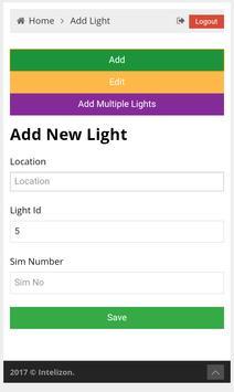 GSMStreetlight screenshot 2