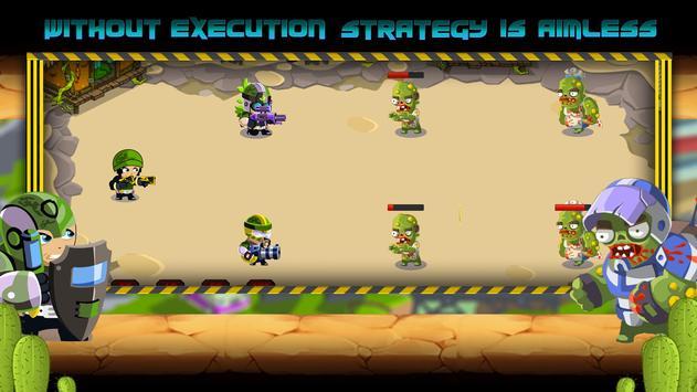 Commandos vs Zombies: Clan War screenshot 14
