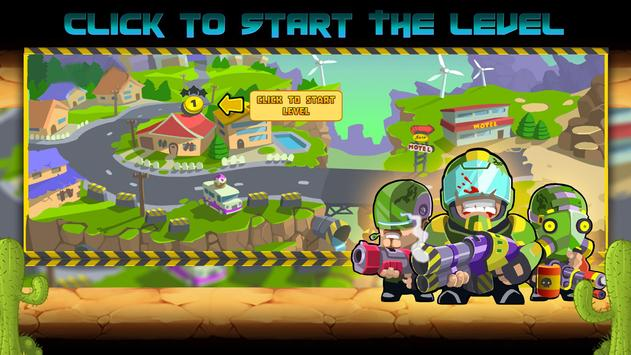Commandos vs Zombies: Clan War apk screenshot