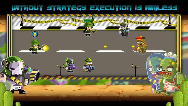 Commandos vs Zombies: Clan War screenshot 8