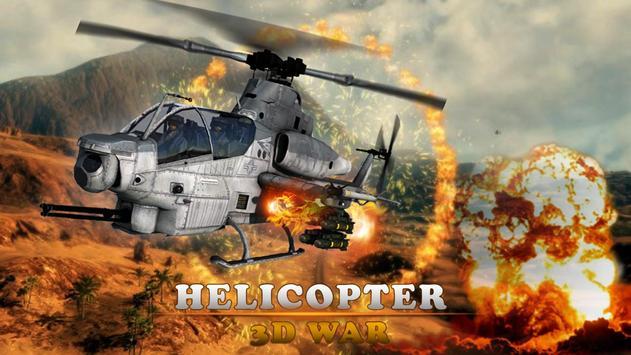 Gunship Army Helicopter War 3D screenshot 11