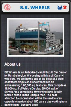 SK Wheels Mobile Care App screenshot 1
