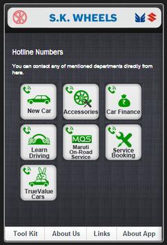 SK Wheels Mobile Care App screenshot 2