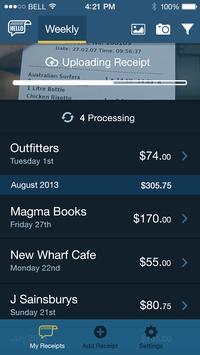 Hello Receipts - Scan Expenses apk screenshot