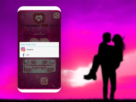 The Great Love Tester apk screenshot
